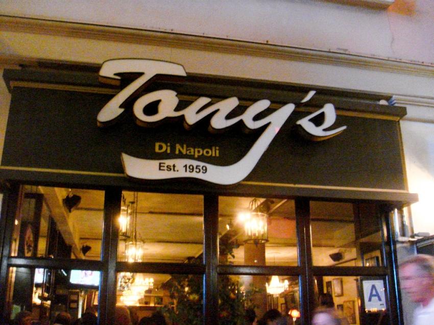 Tony Dinapoli S Restaurant Nyc