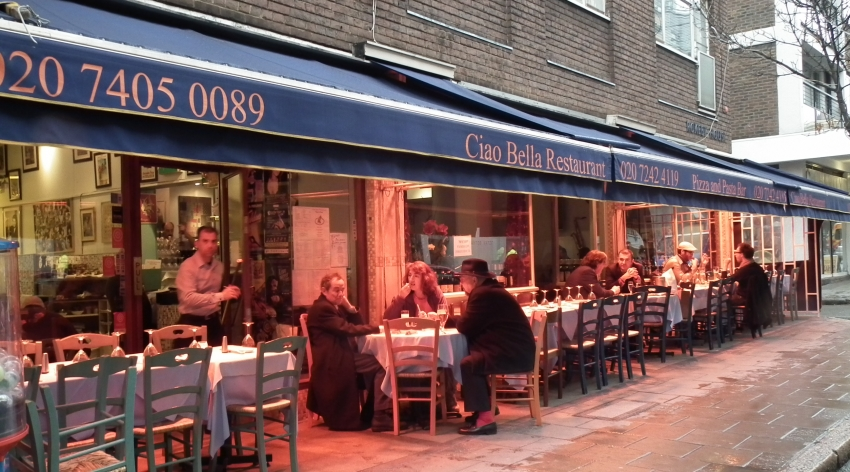 Ciao Bella Restaurant London