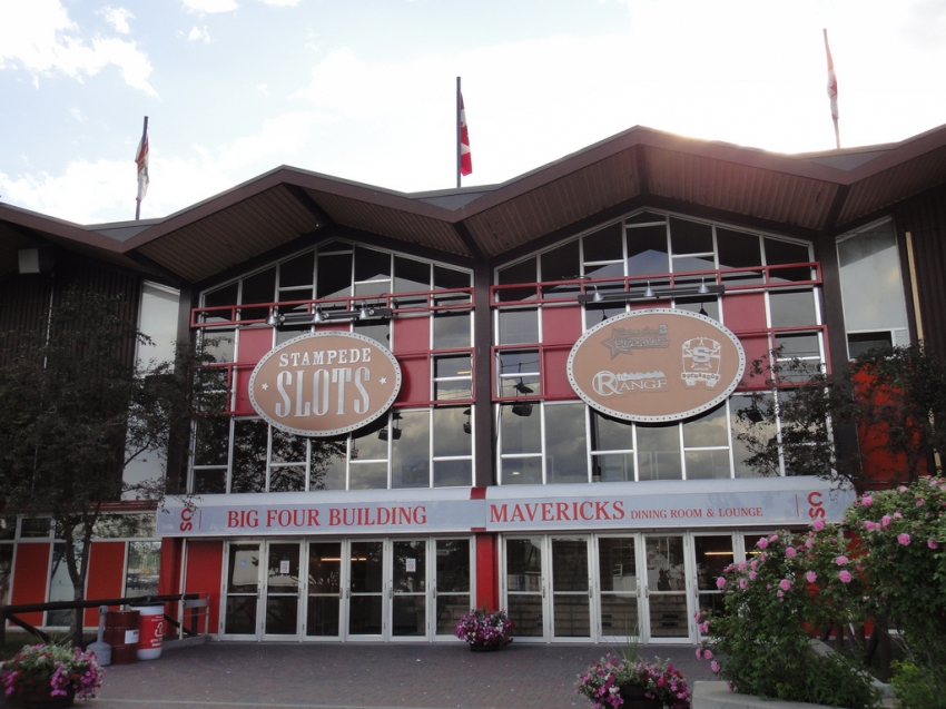 The Big Four Building At Stampede Park Calgary