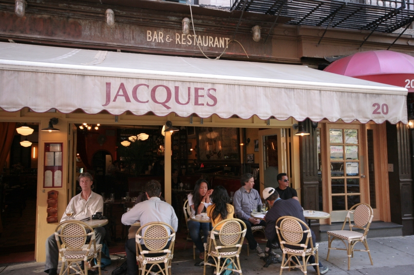 Jacques Restaurant Nyc Prince Street