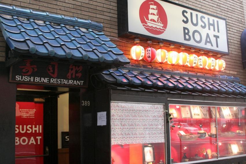 Best Sushi Boat Restaurant San Francisco
