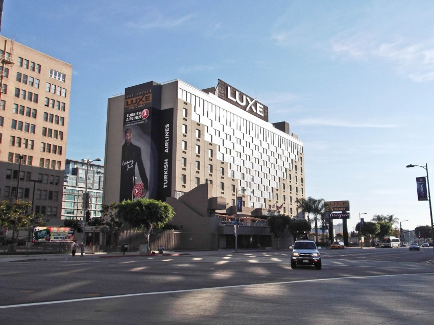 Luxe City Center Hotel Los Angeles Ca United States